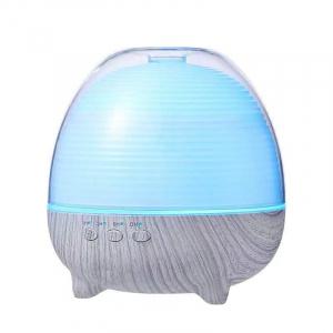 Umidificator Aromaterapie Optimus AT Home™ 1958 cu telecomanda rezervor 600ml, cu ultrasunete, 25-30m², purificator aer, difuzor, white wood [0]