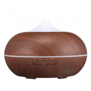Umidificator Optimus AT Home™ 1704 cu ultrasunete, aromaterapie, 25-30m², purificator aer, difuzor, rezervor 300ml, dark wood [1]