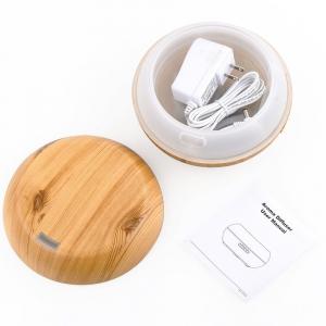 Umidificator Optimus AT Home™ 1721 cu ultrasunete, aromaterapie, 20-25m², purificator aer, difuzor, rezervor 200ml, light wood [3]
