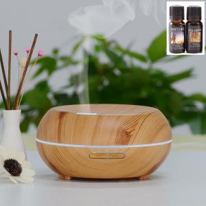 Umidificator Optimus AT Home™ 1721 cu ultrasunete, aromaterapie, 20-25m², purificator aer, difuzor, rezervor 200ml, light wood [0]