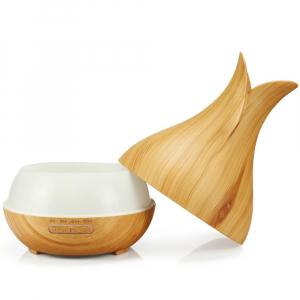Umidificator Optimus AT Home™ 1740 cu ultrasunete, aromaterapie, 20-40m², purificator aer, difuzor, rezervor 400ml light wood [1]