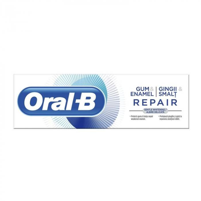 ORAL B PASTA DINTI G&E REPAIR GENTLE WHITE, 75ML [0]