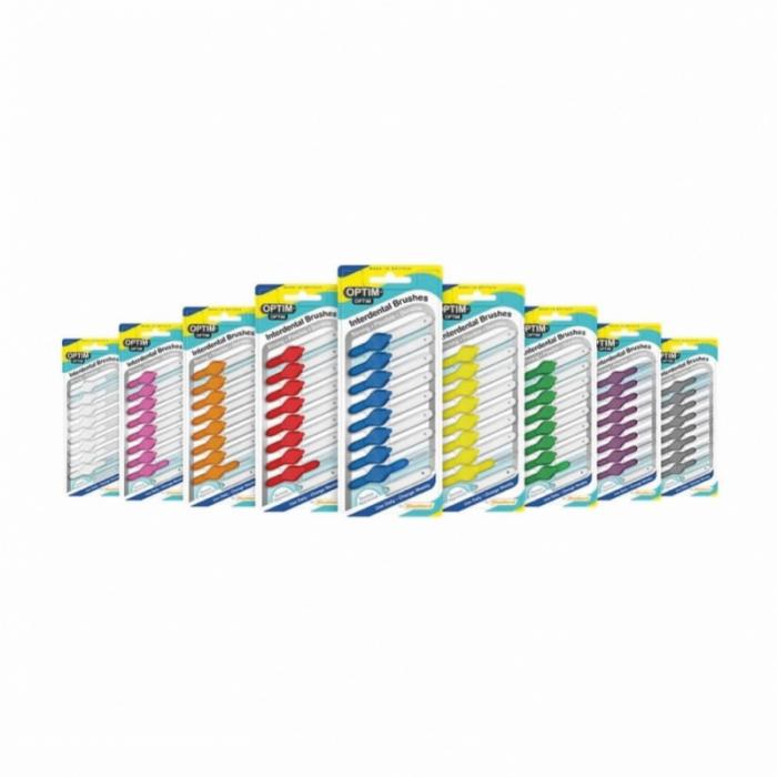 Periute Interdentare colorate - Albastru - diametru 3mm - lungime 13mm [0]