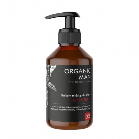 Lotiune de spalare corporala regeneranta Organic man [0]