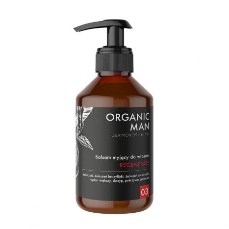 Sampon regenerant Organic Man [0]