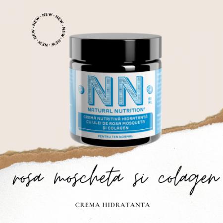 Cremă nutritivă hidratantă cu ulei de Rosa Moscheta și collagen [1]
