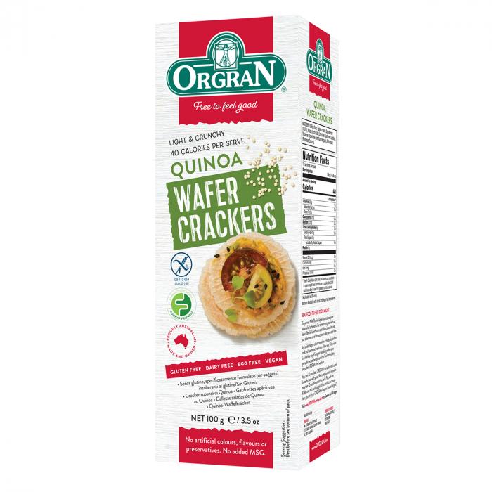 Orgran - Crackers din Quinoa x 100g [0]