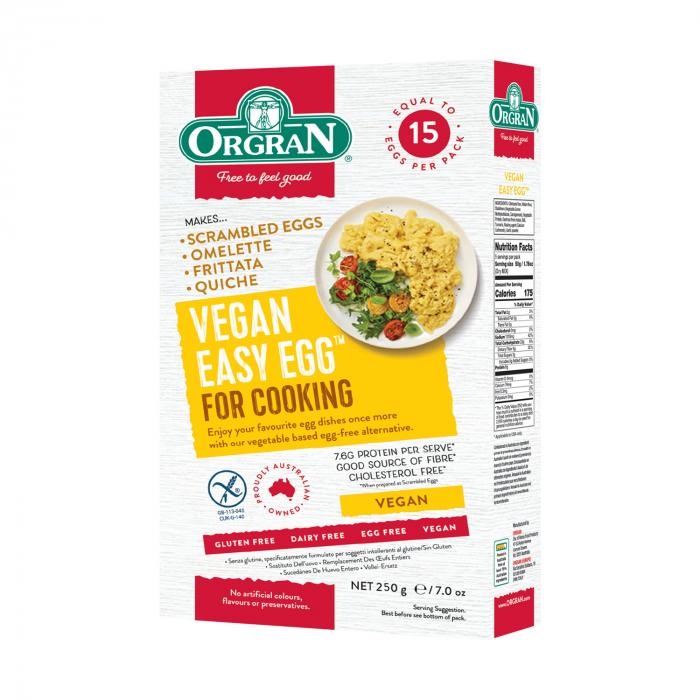 Orgran – Easy egg – Amestec pentru omleta x 250g [0]