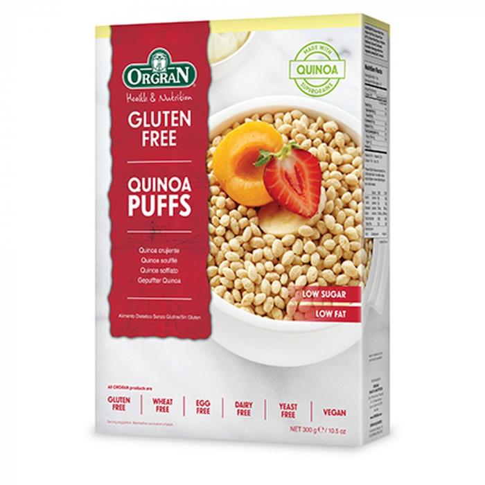 Orgran - Quinoa Puffs fara gluten si alergeni x 300g [0]