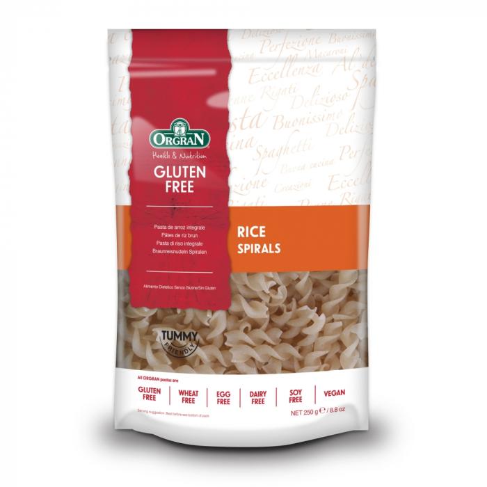Orgran - Spirale din orez fara gluten si alergeni x 250g [0]
