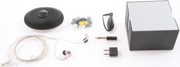 Casti profesionale in-ear Shure SE535-CL-E, cu 3 microdrivere HD si izolare fonica maxima 2