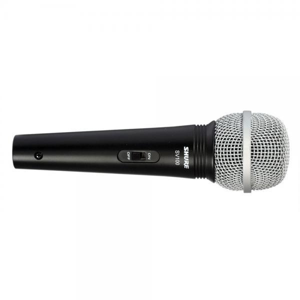 Microfon profesional cu fir Shure SV100-A, cardioid, utilizare multipla 2