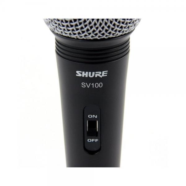 Microfon profesional cu fir Shure SV100-A, cardioid, utilizare multipla 1