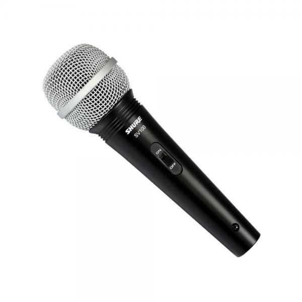 Microfon profesional cu fir Shure SV100-A, cardioid, utilizare multipla 0