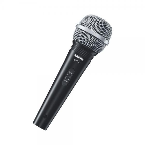 Microfon profesional cu fir Shure SV100-A, cardioid, utilizare multipla 4