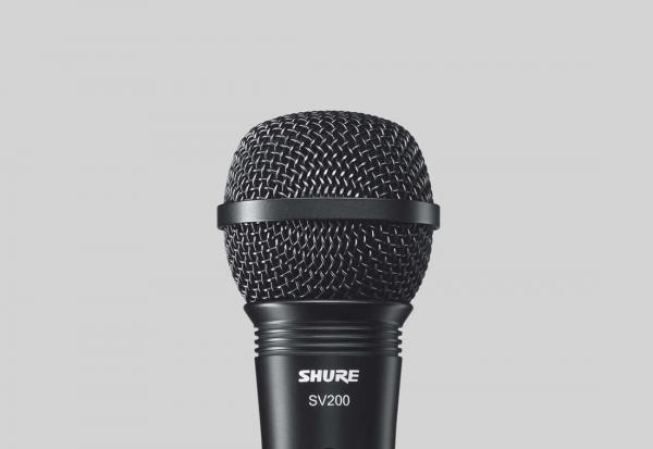 Microfon profesional cu fir Shure SV200-A, cardioid [1]