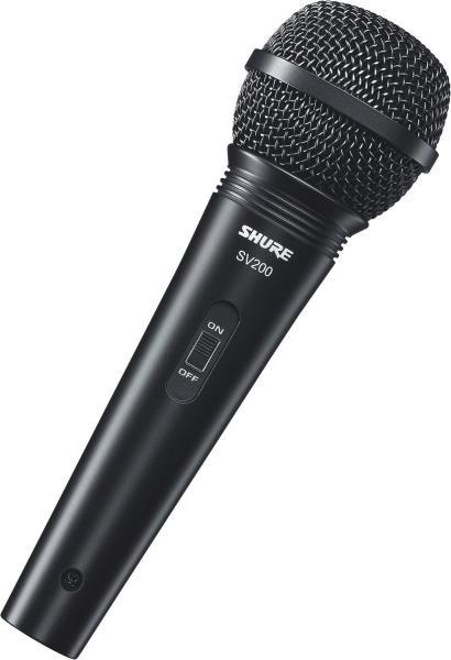 Microfon profesional cu fir Shure SV200-A, cardioid 0