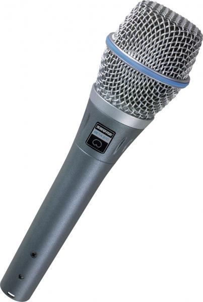 Microfon profesional Shure Beta 87C 0