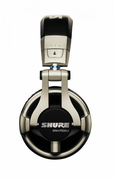 Casti profesionale DJ Shure SRH750DJ, tehnologie closed-back, Gold [2]