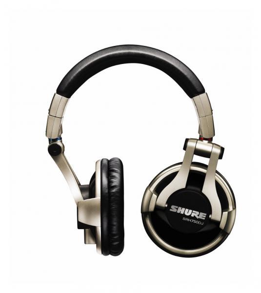 Casti profesionale DJ Shure SRH750DJ, tehnologie closed-back, Gold [0]