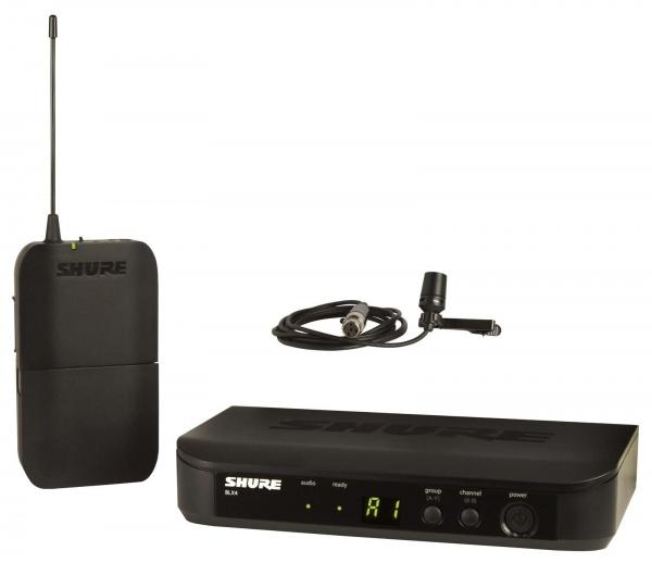 Microfon wireless Shure BLX14E/B98, de instrumente, microfon si receiver 1