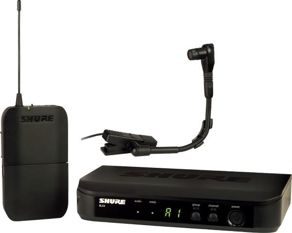 Microfon wireless Shure BLX14E/B98, de instrumente, microfon si receiver 0