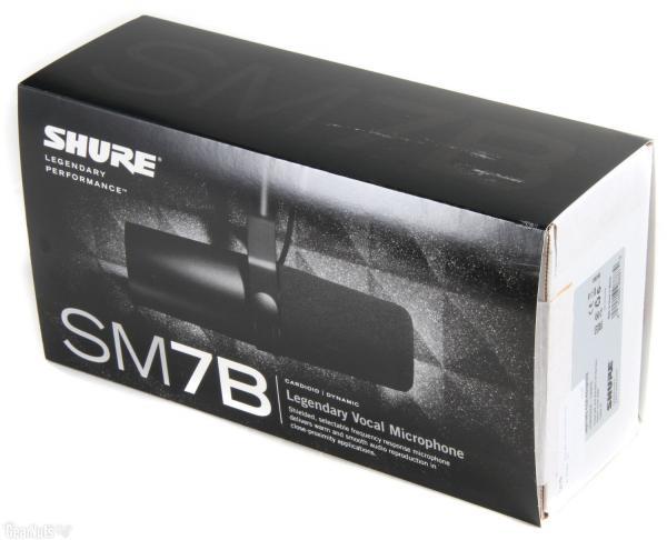 Microfon profesional Shure SM7B 1