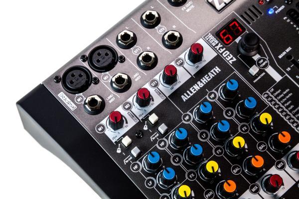 Mixer Analogic Allen & Heath ZED6 FX, 6 canale cu efect incorporat 4