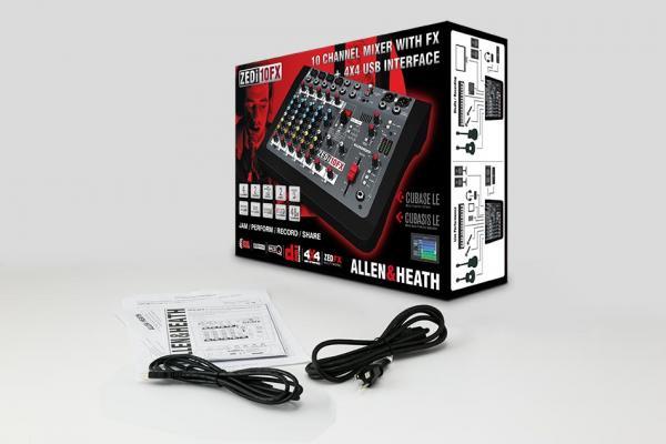Mixer Analogic Allen & Heath ZEDi 10 FX, 10 canale cu interfata USB si efect incorporat [1]