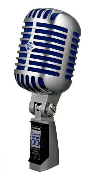 Microfon profesional  Shure SUPER 55 Deluxe cu design clasic 0