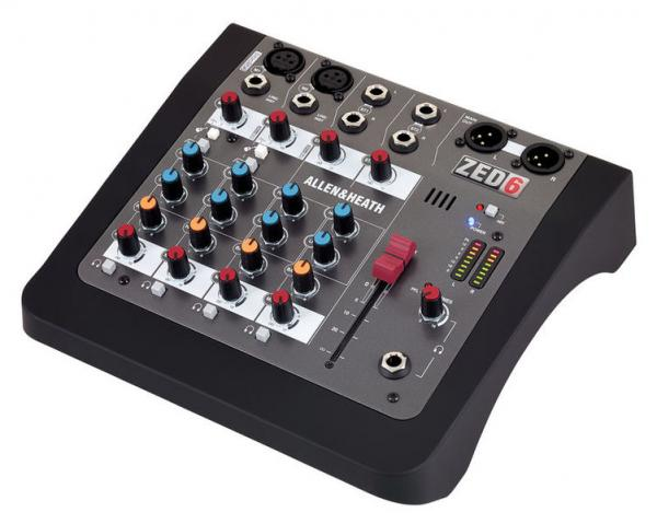 Mixer Analogic Allen & Heath ZED6, 6 canale 0