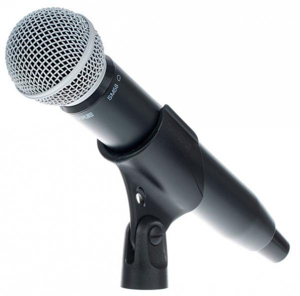Microfon profesional original Shure GLXD24R/SM58, transmitter si receiver 5