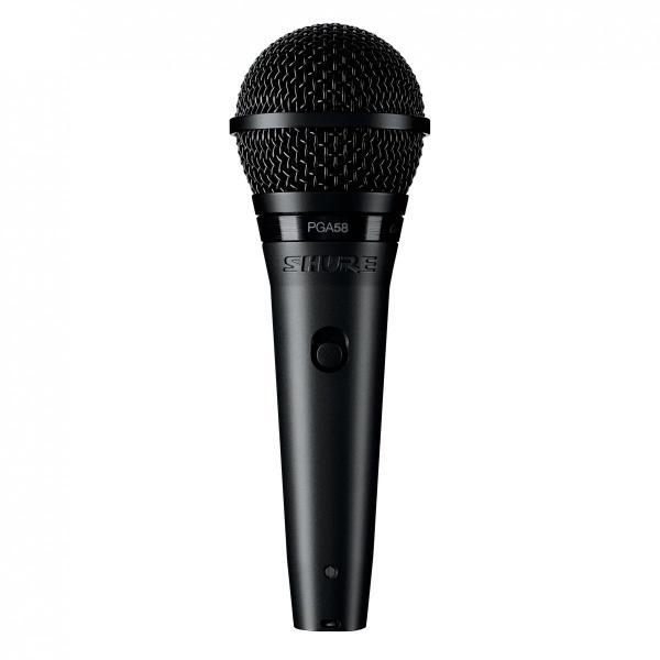 Microfon profesional dinamic cu fir Shure PGA 58, cardioid 0