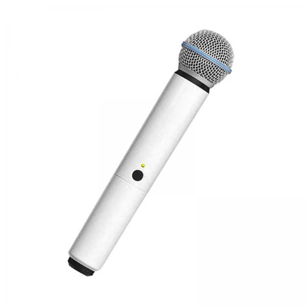 Carcasa de schimb pentru microfoane Shure BLX SM58/B58, alba 1