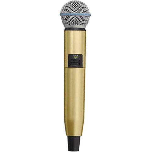 Carcasa de schimb pentru microfoane Shure GLX-D SM58/B58, aurie (gold) 0