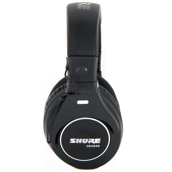 Casti profesionale Shure SRH840-E, tehnologie closed-back 3