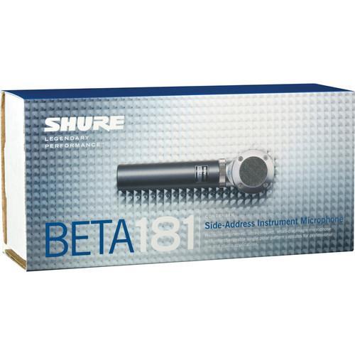 Microfon profesional Shure Beta 181/C, cardioid, pentru instrumente 3