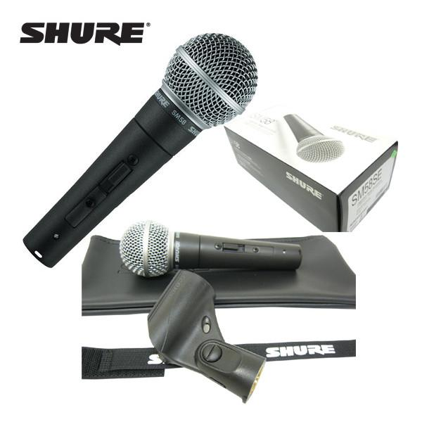 Microfon Shure SM58 original, profesional, cardioid, cu switch On/Off 10