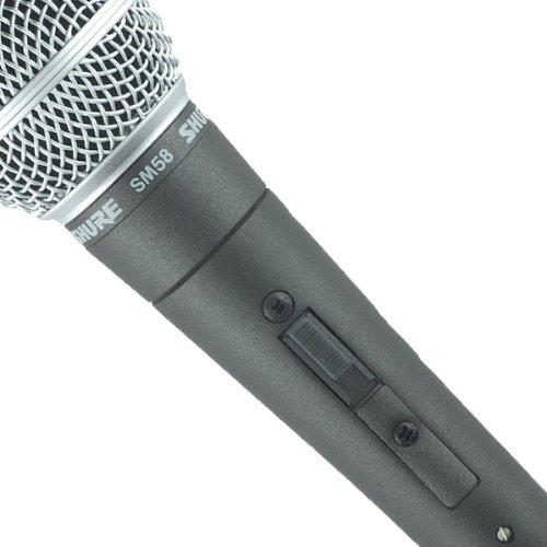 Microfon Shure SM58 original, profesional, cardioid, cu switch On/Off 12