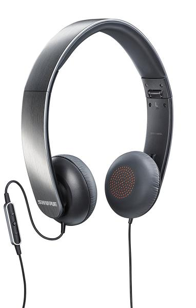 Casti profesionale Shure SRH145M+, pliabile, cu comanda si microfon compatibile iOS 0