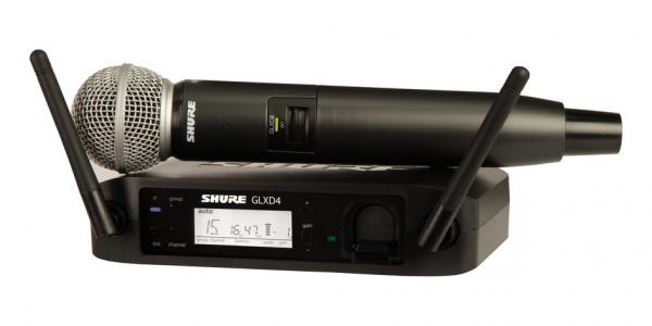 Microfon wireless Shure GLXD24/SM58 original, microfon si receiver 0
