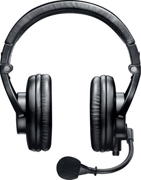 Casti profesionale cu microfon dinamic Shure BRH440M, design circumaural 0