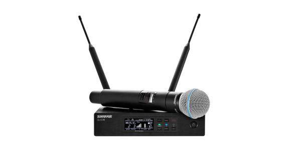 Microfon wireless original Shure QLXD24/Beta58, original, microfon si receiver 0
