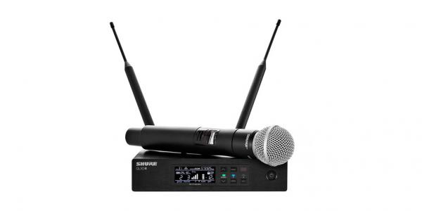 Microfon wireless Shure QLXD24/SM58=-G51 0