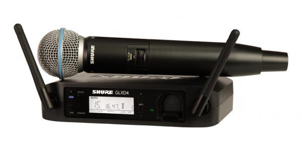 Microfon wireless Shure GLXD24/BETA58 original, profesional, microfon si receiver 0