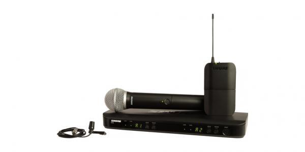Sistem wireless combo Shure BLX1288E/CVL-H8E [0]