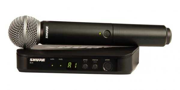 Microfon wireless Shure BLX24/SM58 original [0]