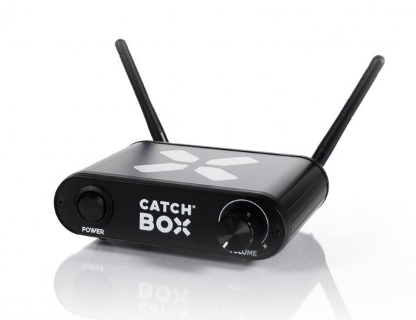 Microfon wireless CatchBox Lite, pentru conferinte de 100 persoane, culoare albastra [3]