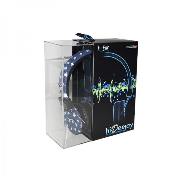 Casti audio over-ear hi-Fun hi-Deejay 13339, blue 2