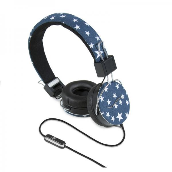Casti audio over-ear hi-Fun hi-Deejay 13339, blue 0